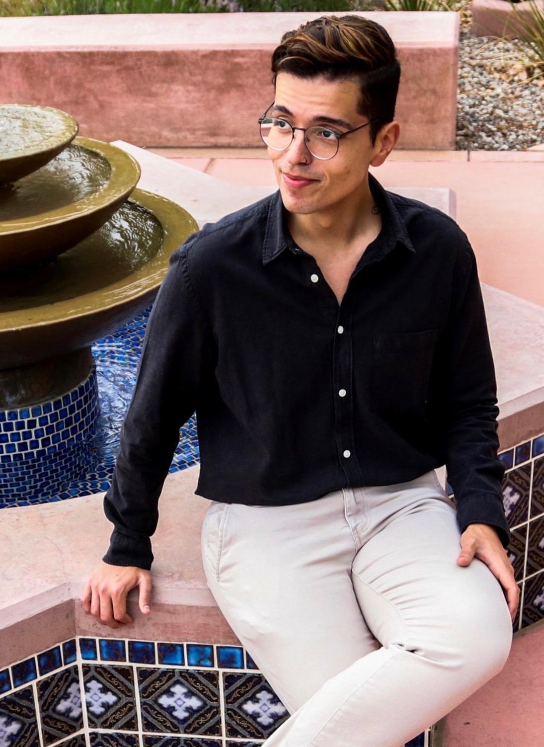 Portrait of David P. Saiz.